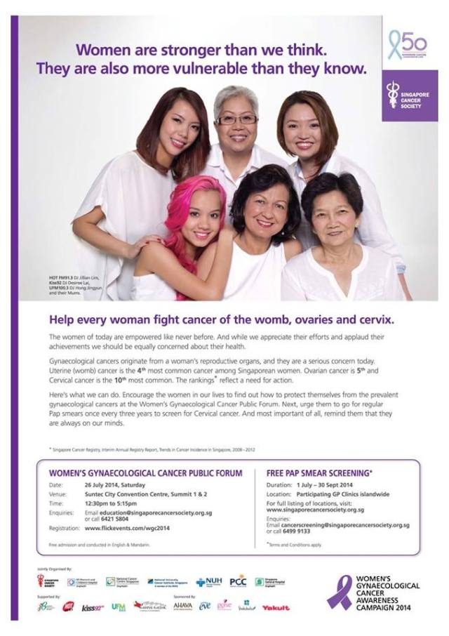 Women's Gynaecological Cancer Awareness Campaign