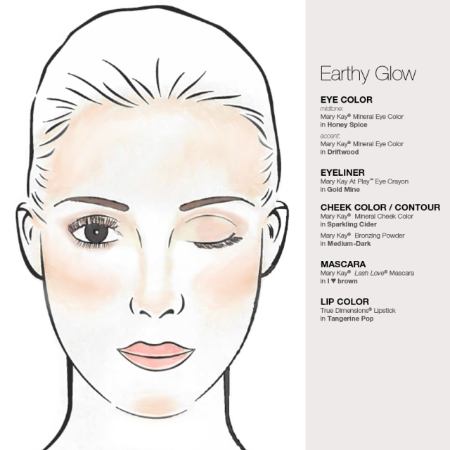 Earthy Glow Sketch
